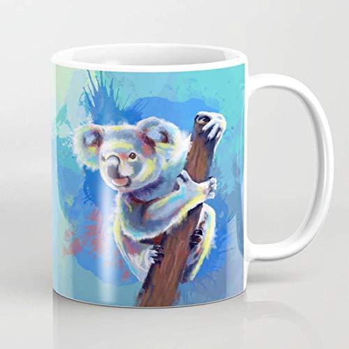 Koala Bear Taza de café, Koala Bear taza, Koala, taza de café Koala, taza de café Koala, regalo para los amantes del oso Koala
