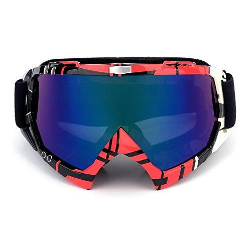 Skibril Verspiegeltski sportbril snowboard masker winter motorslee motorcross zonnebril winddicht UV-bescherming offroad bril 2019