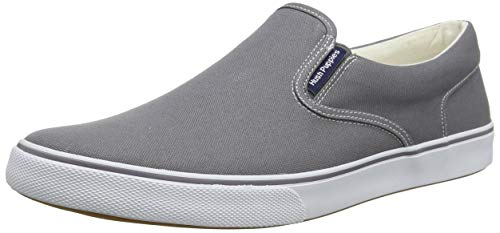 Hush Puppies Herren Chandler Slip On Sneaker, Grau (Grey Grey), 40 EU