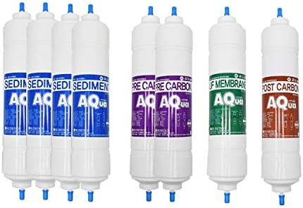 8EA Economy Replacement Water Filter We OFFer at cheap prices 1 Set : Tulsa Mall for Coway CHP- Year