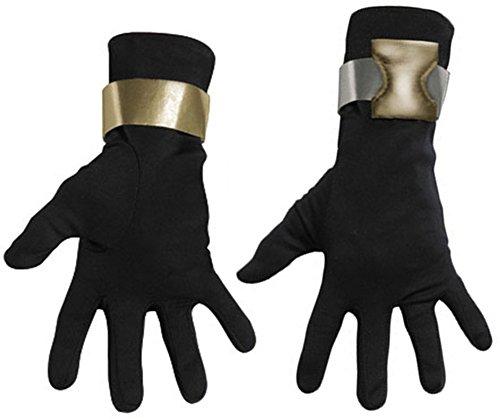 Disguise Deluxe Erwachsene G.I. Joe Snake Eyes Handschuhe - Erwachsene Std.