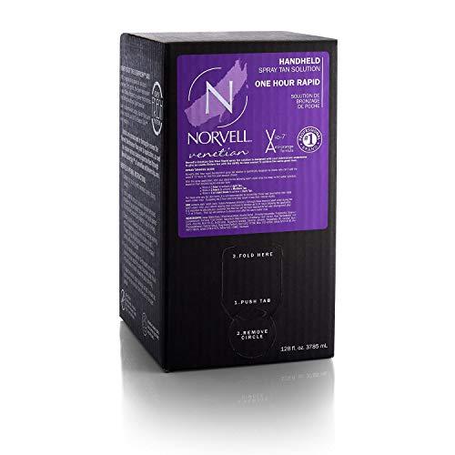 Norvell Premium Professional Sunless Tanning Spray Tan Solution - Venetian One, Gallon/128 fl.oz.