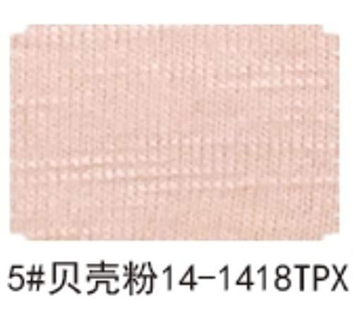 KIU 32s Gekamd slub katoen spandex stof elastisch voor Herfst jurk
