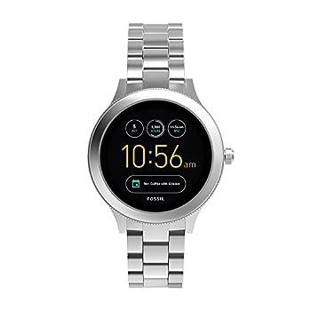 Fossil Women s Gen 3 Venture Stainless Steel Smartwatch Color  Silver-Tone  Model  FTW6003