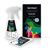 YLMO OXYDAY Elimina odori sanificante per lettiere e deiezioni, Adatto a Tutti Gli Animali Domestici | Non tossico, Non Contiene ammoniaca ne Cloro | (Kit OXYDAY)