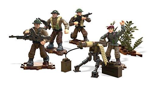 Mega Construx Call of Duty British Troop Pack Building Set