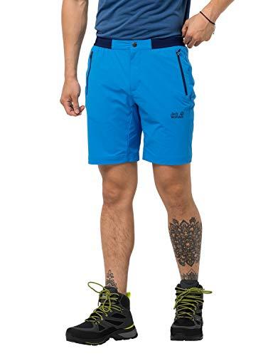 Jack Wolfskin Trail Pantalones Cortos Hombre, Azul, 50