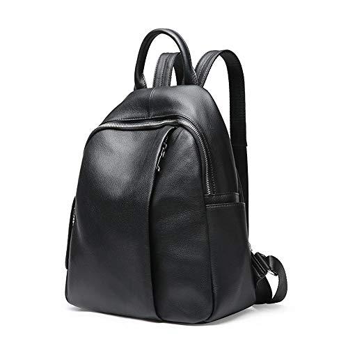 Damen-Lederrucksack mit großer Kapazität, tragbarer Reiserucksack, Verstellbarer Riemen, geeignet für Picknick/Reisen/tägliche Anwesenheit im Freien