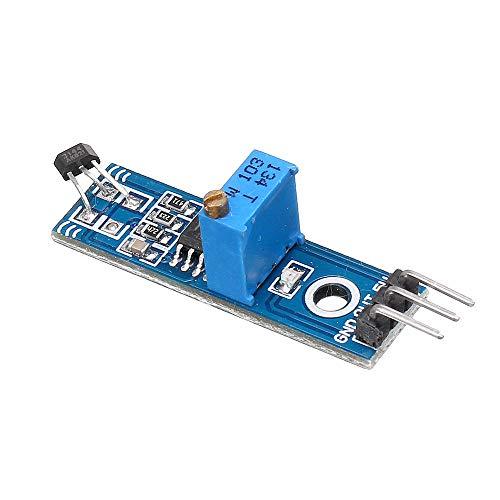 Sensor & Detektor Modul LM393 3144 Hallsensor Hallschalter Hallsensor Modul für Smart Car