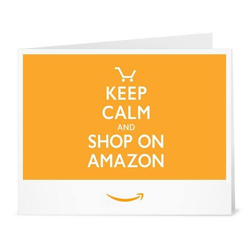 Cheque Regalo de Amazon.es - Imprimir - Keep Calm and Shop On Amazon