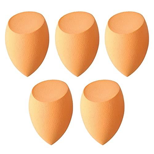 5 Pcs Makeup sponges Set Blender Beauty Cosmetics Tool Flawless Facial Powder Puff Foundation Sponges Professional Make Up Applicator Latex-Free Suit