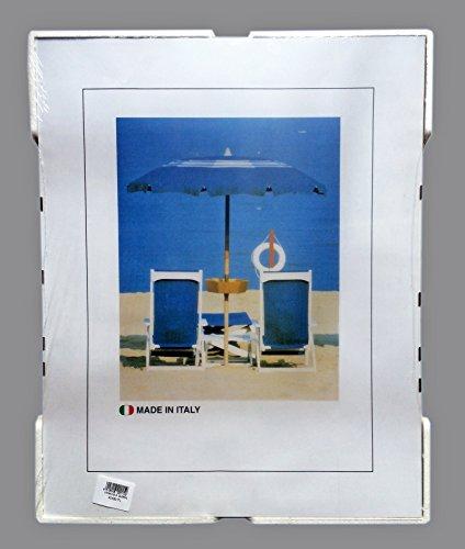 12 Cornici a Giorno CLIP A4 (21x29,7 cm.) in Crilex Antinfortunistico, Ultra- Trasparente e Leggero - Cornice in Plexiglass A4 - Conf. da 12 Pz.