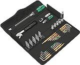 Wera 05134013001 Kraftform Kompakt F 1 Herramientas de atornillar para trabajos de ventanaje, 35 piezas