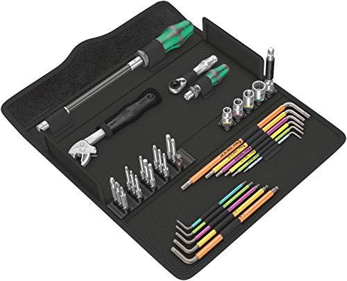 Wera 05134013001 Kraftform Kompakt F 1 Schraubwerkzeugsatz, 35-teilig