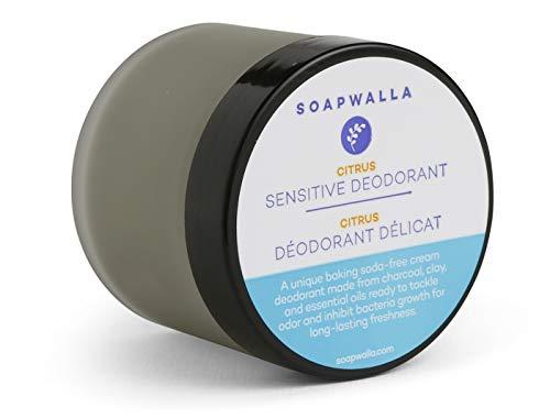 Sensitive Deodorant - Citrus - SOAPWALLA