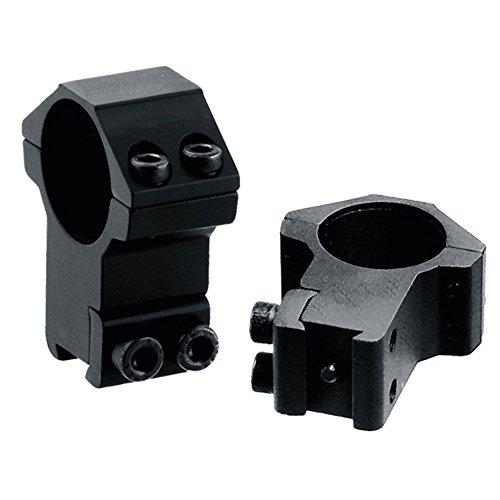 UTG 1  2PCs High Profile Airgun Rings w Stop Pin