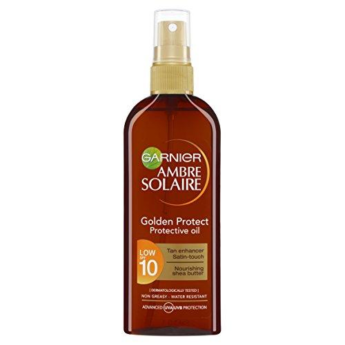 Garnier Ambre Solaire SPF10 Protégez or (faible) Spray Huile 150ml