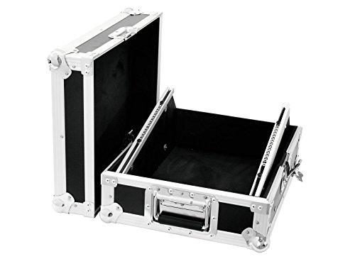 Mixer-Case Road MCB-12 schräg 8HE schwarz