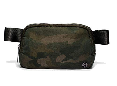 Lululemon Everywhere Belt Bag, 1L (Heritage Camo Jacquard Max Dark Olive Sargent Green)