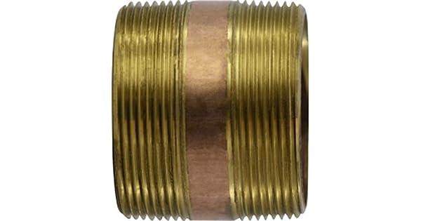 5 Length 3 Diameter Midland Metal 5 Length Midland 40-205 Brass Nippple 3 Diameter