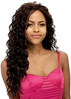 women's fashion long curly wig M1181