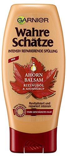 Garnier Wahre Schätze Ahorn Balsam Spülung, 6er Pack (6 x 200 ml)