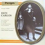 Giuseppe Verdi , Orchestra Of The Royal Opera House, Covent Garden , Boris Christoff , Jon Vickers , Tito Gobbi , Gr Brouwenstijn , Fedora Barbieri - Don Carlos - Paragon - DSV 52008,