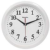 Westclox (White 461761 Basic Wall Clock, 10'