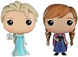 Pop Frozen Princess Doll Anna Elsa Figura de acción Muñeca Juguetes para niños Regalo