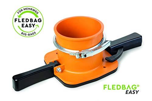 Fledbag doseerapparaat voor Bigbags – made in Austria – originele Easy of professionele uitvoering. Het origineel voor het eenvoudig legen van allerlei soorten bigbags. Variant Easy
