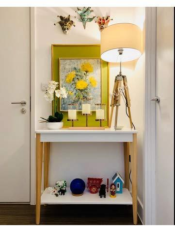 Lámparas de mesa, Vintage Pequeño, Iluminación de Madera Ajustable para Sala de estar, Dormitorio (con Pantalla de Lámpara)