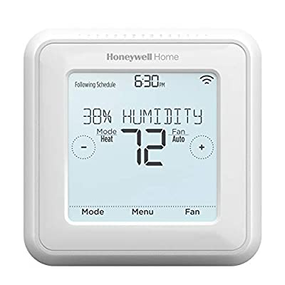 Honeywell Home RCHT8600ZW1003 Zwave T5 Z-Wave 7-Day Programmable Thermostat with Touchscreen Display, White