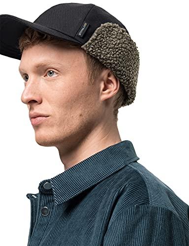 Jack Wolfskin Unisex FIERCE WIND CAP M Mütze, black