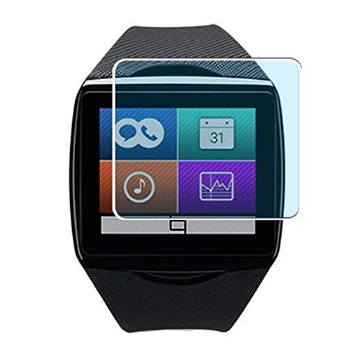 Vaxson 3 Stück Anti Blaulicht Schutzfolie, kompatibel mit Qualcomm Toq smartwatch smartwatch Smart Watch, Displayschutzfolie Anti Blue Light [nicht Panzerglas]