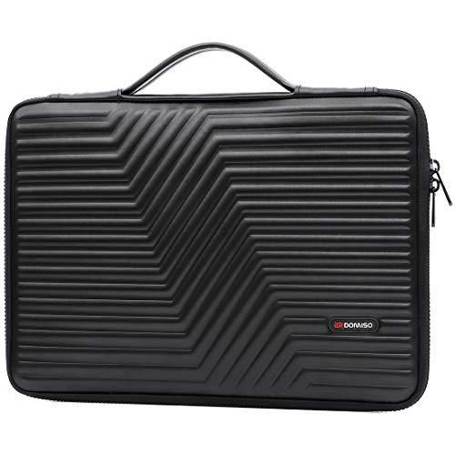 DM DomISO 17 Zoll Laptophülle mit Handgriff EVA wasserdicht stoßfest für 17,3 Zoll Dell Inspiron/MSI GS73VR Stealth Pro/Lenovo IdeaPad 320 321/HP Envy 17/LG Gram 17 Zoll (43,9 cm)