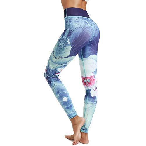 SHUYY Leggings De Sport Femmes Pantalon Femme avec Pantalon De Yoga Long Imprimé Le Champagne Vin du Nouvel an 2020 2021 Est à La Mode, éLéGant, Unique Et Avant-Gardiste Paris