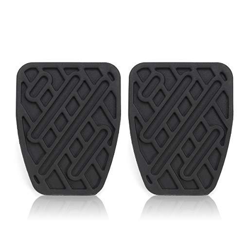 JenNiFer Cubierta de Goma para Pedal de Freno y Embrague para Nissan Qashqai