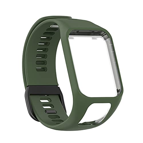 Auplew Smart Bracelet Strap Compatible para Tomtom Runner23/Spark Silicona Impermeable Multicolores Pulsera de Repuesto