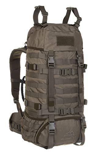 Wisport Raccoon 45 Liter Militär Rucksack, Cordura, MOLLE, Rucksack, Überleben, Sport, Outdoor, Camping, Wandern, Scouting, Trekking (RAL-7013)
