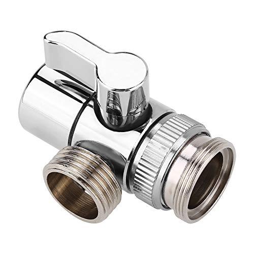Desviador del grifo - Divisor del grifo, Válvula desviadora, A la manguera Adaptador M24, para baño, lavabo de cocina, fregadero