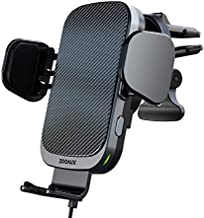ZOOAUX Fast Wireless Car Charger Vent Mount, Automatic Clamping 10W/7.5W Air Vent Car Charging Holder for iPhone 12/Mini/11/11 Pro/Xs MAX/XS/XR/X/8/8+,Samsung S20/S10/S9/S9+/S8//Note 10/9 (Grey)