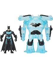 BATMAN 6060779 Bat inch Deluxe Action Figure met Transforming Tech Armor, voor kinderen vanaf 4 jaar