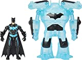 BATMAN Bat-Tech 4-inch Deluxe Action Figure with Transforming Tech Armor, for Kids Aged 4 and up