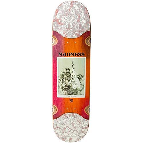 Madness Skateboarding Deck: Perelson Remedio Slick 8.3