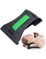 YGMXZL Dispositivo cervical del cuello de tracción,Almohadas para Cuello Masaje Almohada de viaje Cuello y Hombros para Tensión Muscular, Alivia el Dolor