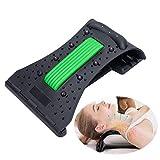 YGMXZL Barella per trazione cervicale della spalla,Trazione Cervicale Collo, Cuscino Collo Ergonomica Cervicale per La Gestione Sollievo dal Dolore E Colonna Cervicale Rilassare Muscoli (Verde)