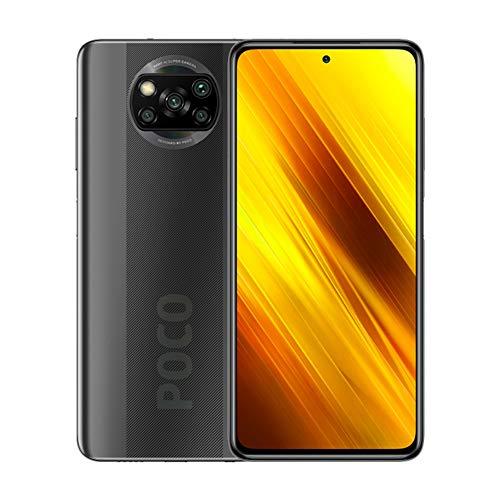 "Xiaomi Poco X3 NFC Smartphone RAM 6GB ROM 64GB 6,67""FHD+ LCD DotBildschirm Hochleistungsbatterie mit 5160 mAh (typ) Grau, 6941059650454"