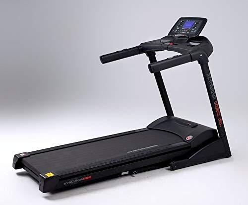 SYNCHRON ACTION Tapis roulant XT900 2020 BlueTooth HRC 3.5/6.5 HP 22km/h 558x1520 Full Black Fascia Cardio