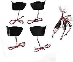 【FIELD】トヨタ プリウス30系/プリウスα40系 専用設計 ドアハンドル LED増設キット ルームランプ インナー ハンドルカバー ランプ ライト (アイスブルー)