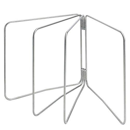 ビーワーススタイル 布団干し 4枚用 折りたたみ 室内 屋外 兼用 ステンレス製 3S-110